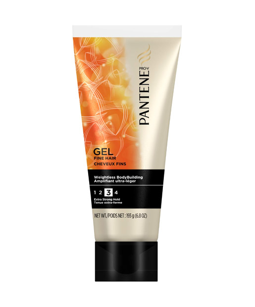 No. 4: Pantene Pro-V Fine Hair Solutions Weightless Body Building Gel, $3.99