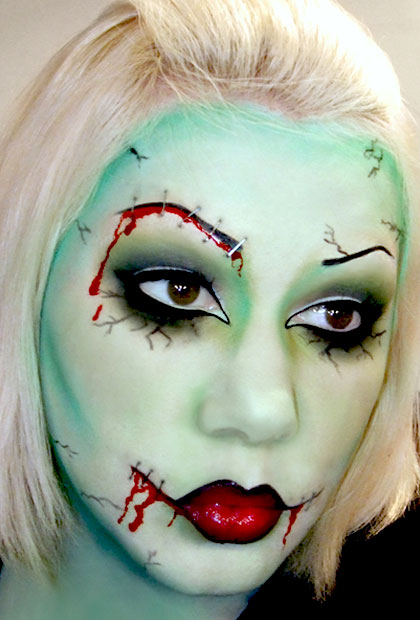 Homemade Makeup Learn How To Make Lipstick Face Powder And - Diy Halloween Face Makeup