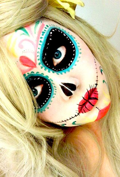 DIY Halloween Makeup Ideas - Costumes And Makeup