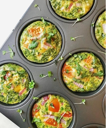 Vegetable Egg Muffin Cups