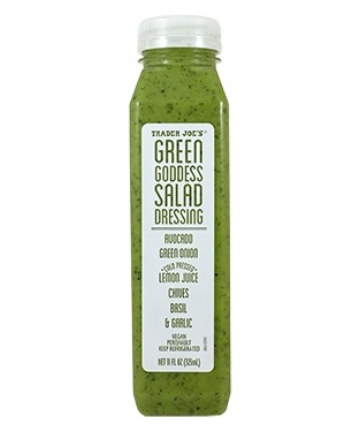 Don't shy away from Green Goddess dressing