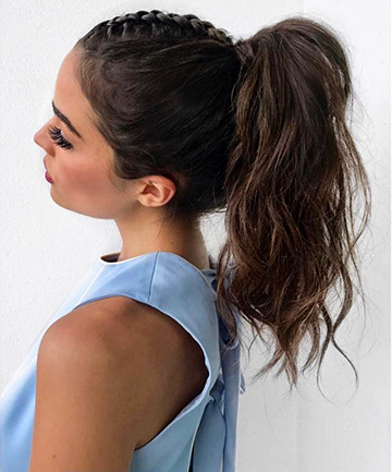 high braided ponytail 16 braided ponytails every cool