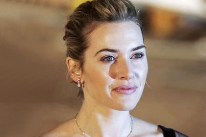 Sassy Chignon: Kate Winslet in 'The Holiday'