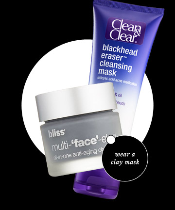 Use a Blackhead Removal Mask