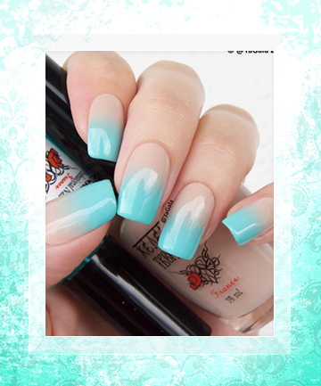 Boasting Blue How To Get Ombre Nails And 19 Stunning Ways Rock Them Page 15