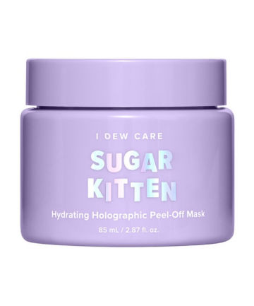 Memebox I Dew Care Sugar Kitten Hydrating Holographic Peel-Off Mask, $23