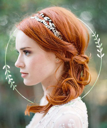 Wedding hairstyles bridal hair accessories junglespirit Image collections