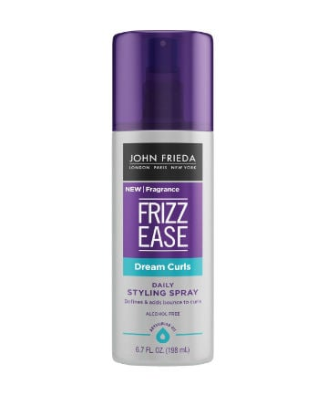 Best Curly Hair Product No. 17: John Frieda Frizz Ease Dream Curls Daily Styling Spray, $7.49