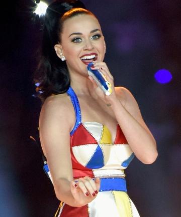 Katy Perry's Super Bowl Beauty Breakdown