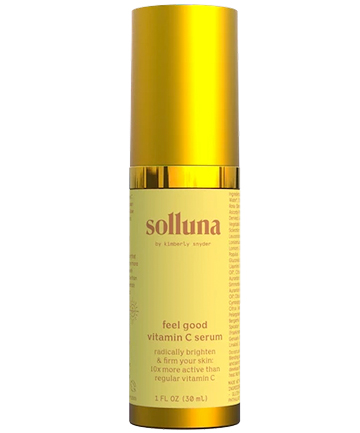 Solluna by Kimberly Snyder Feel Good Asc2P Vitamin C Serum, $56