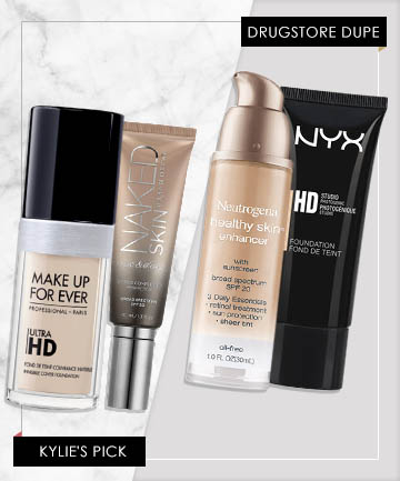 Kylie Jenner Makeup Foundation