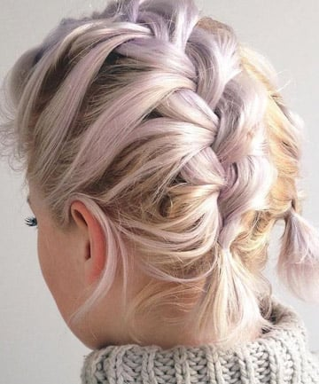 Short Hairstyles With Braids To The Locks Then Cut It Shorts As You Style Is
