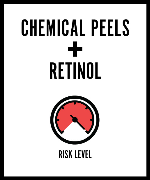 Chemical Peels +  Retinol = Something's Burning