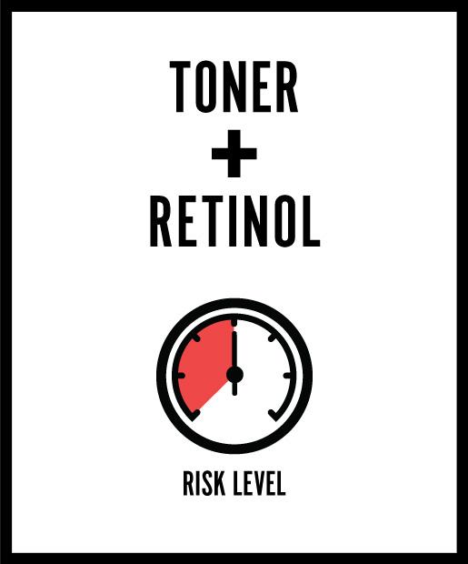 Toner + Retinol = A Waste of Money