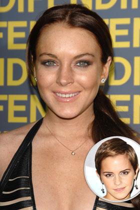 The target: Lindsay Lohan