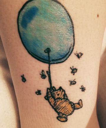 Literary tattoos winnie the pooh 30 literary tattoos for Winnie the pooh tattoo
