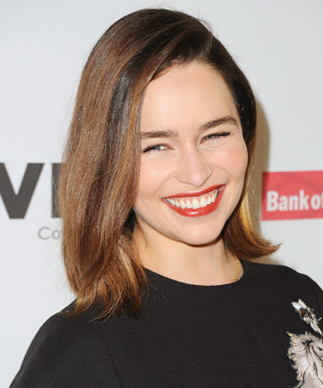 Emilia clarkes straight lob 17 lob haircuts that will make you emilia clarkes straight lob winobraniefo Choice Image