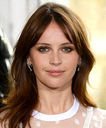 Felicity Jones' French New Wave Fringe
