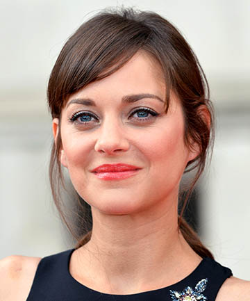 Marion Cotillard's Casual-Chic Side Bangs