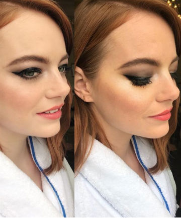 Look of the Day: Emma Stone's Smoky Cat Eye, Look of the Day - (Page 8)
