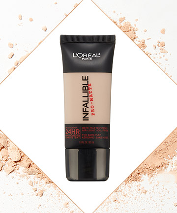 Infallible Foundation by L'Oreal Paris, $13
