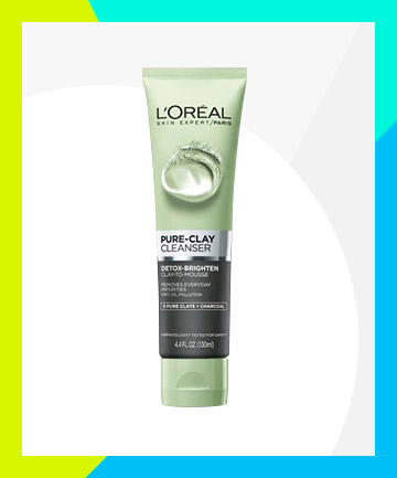 L'Oreal Pure Clay Cleanser Detox & Brighten, $6.99