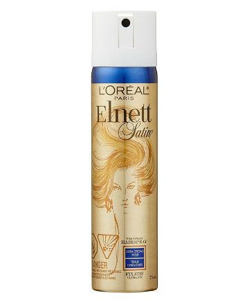 Best Hairspray No. 5: L'Oreal Elnett Satin Hairspray Extra Strong Hold, $6.99