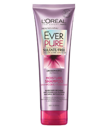 Best Color Protecting Shampoo No. 11: L'Oréal Paris EverPure Sulfate-Free Color Care System Moisture Shampoo, $6.69