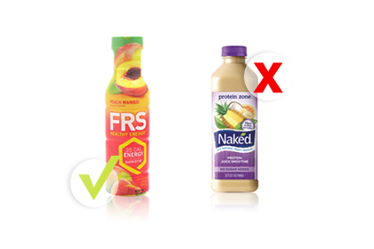 Rule No. 5: Choose FRS instead of Naked Juice