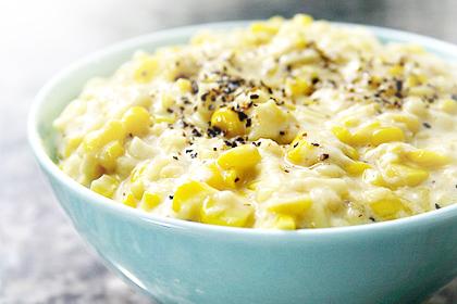 Leftover: Creamed corn