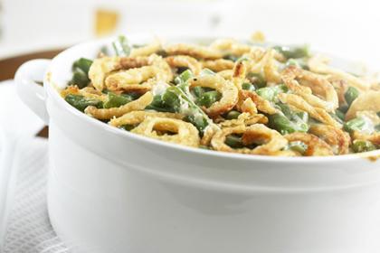 Leftover: Green bean casserole
