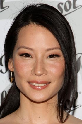 Lucy Liu: Defined Brows