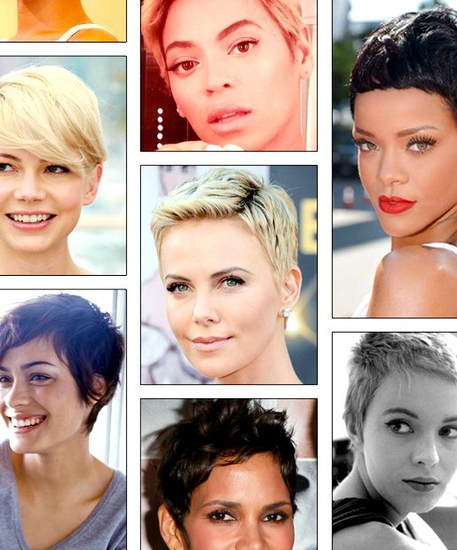 Makeup For Pixie Haircuts
