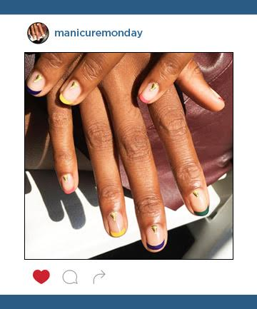 Mani of the Week: The Modern French Mani