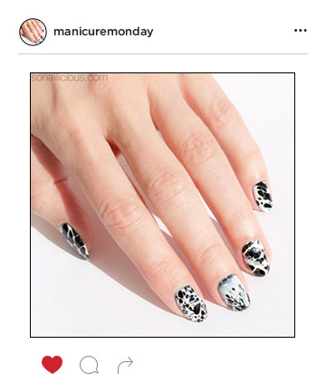 Mani of the Week: Marble Nails