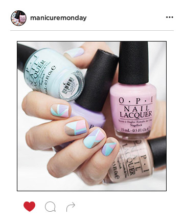 Mani of the Week: Pretty Pastel Nails