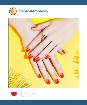 Mani of the Week: Red Hot Summer Nails