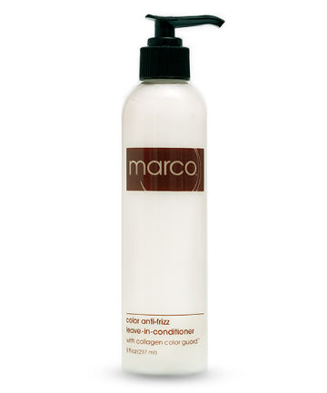 Best Leave-in Conditioner No. 9: Marco Pelusi Marco Anti-Frizz Leave-In Conditioner with Collagen Color Guard, $36