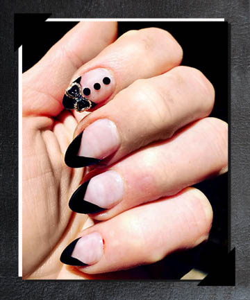 21 Best Matte Black Nails