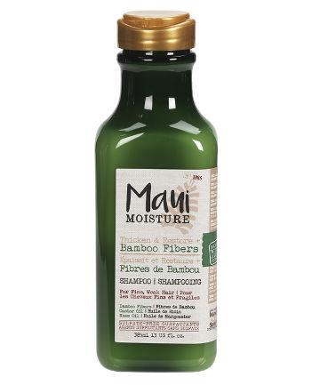 Best Shampoo No. 20: Maui Moisture Thicken & Restore + Bamboo Fibers Shampoo, $8.99