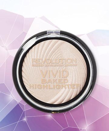 Makeup Revolution Vivid Baked Highlighter, $6