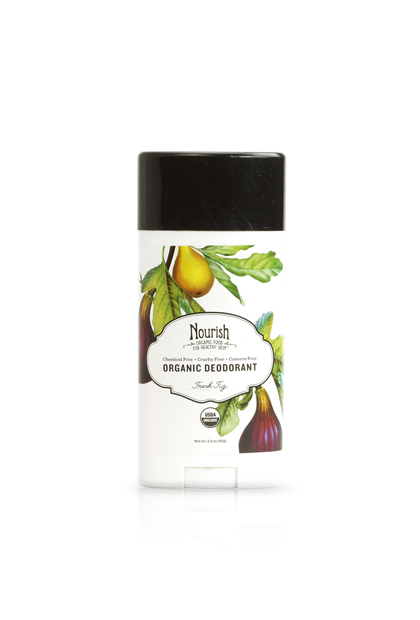 Honorable mention: Nourish Organic Deodorant