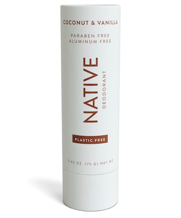 Native Plastic Free Deodorant in Coconut & Vanilla, $12.99