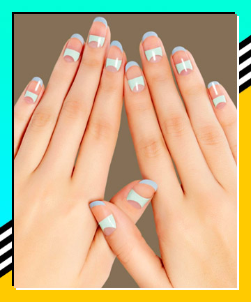 Negative Space , 21 Nail Designs That Make the French Manicure Cool ...