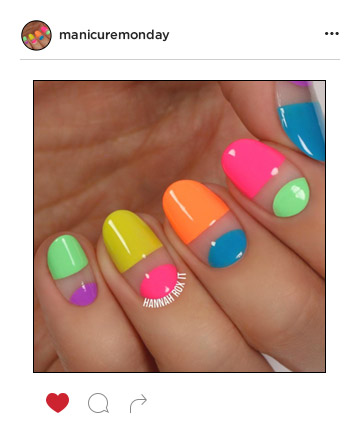 Mani of the Week: Neon Nails