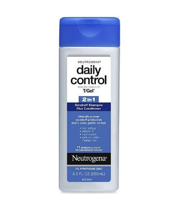 Best Dandruff Shampoo No. 10: Neutrogena T/Gel Daily Control 2-in-1 Dandruff Shampoo Plus Conditioner, $6.49