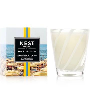 Nest New York x Gray Malin Amalfi Lemon & Mint Candle