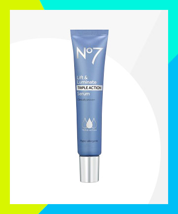 No7 Lift & Luminate Triple Action Serum, $33.99