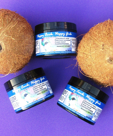 Happy Curls, Happy Girls Coconut Milk Repair Masque & Deep Conditioner, $19.99