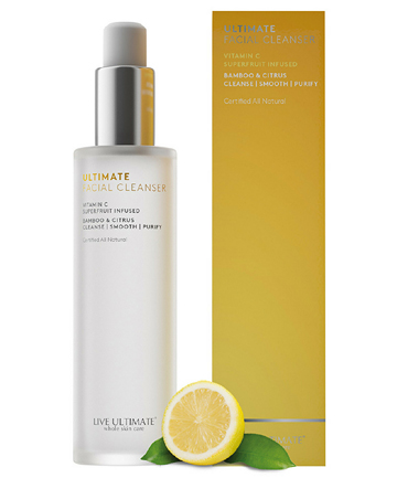 Live Ultimate Ultimate Facial Cleanser, $30